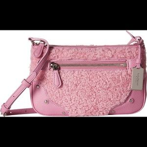 Coach Pink Rhyder Small Pochette Cross Body Bag